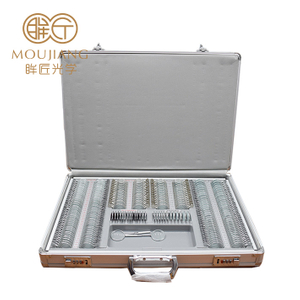Trail Lens Set 266pcs Metal Rim Optometry Box Trial Optical Lens